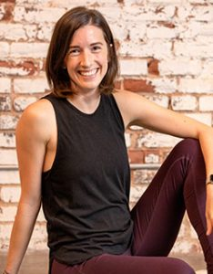 Kate Guthrie yoga instructor portrait