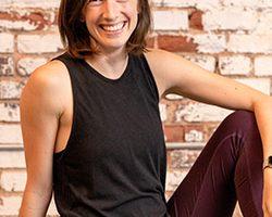 Kate Guthrie yoga instructor portrait