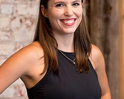 Katie Kupier yoga instructor portrait