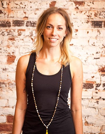 Em Harger yoga instructor portrait
