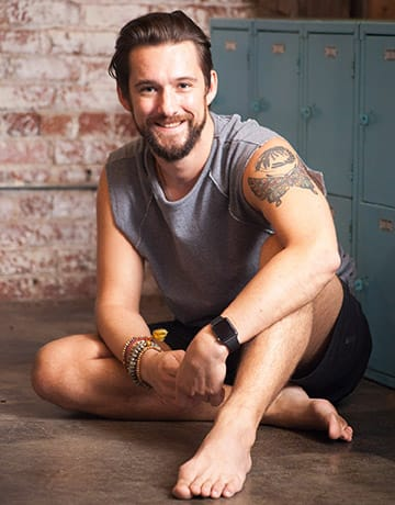 Nick Combs yoga instructor portrait