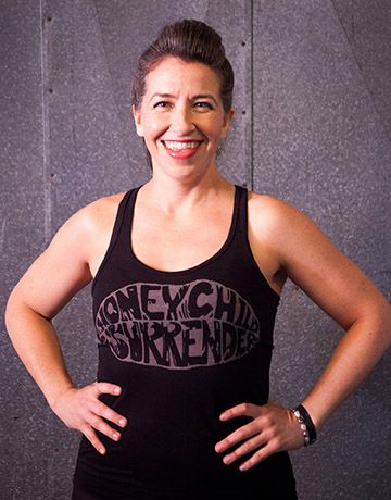 SJ Ursery yoga instructor portrait