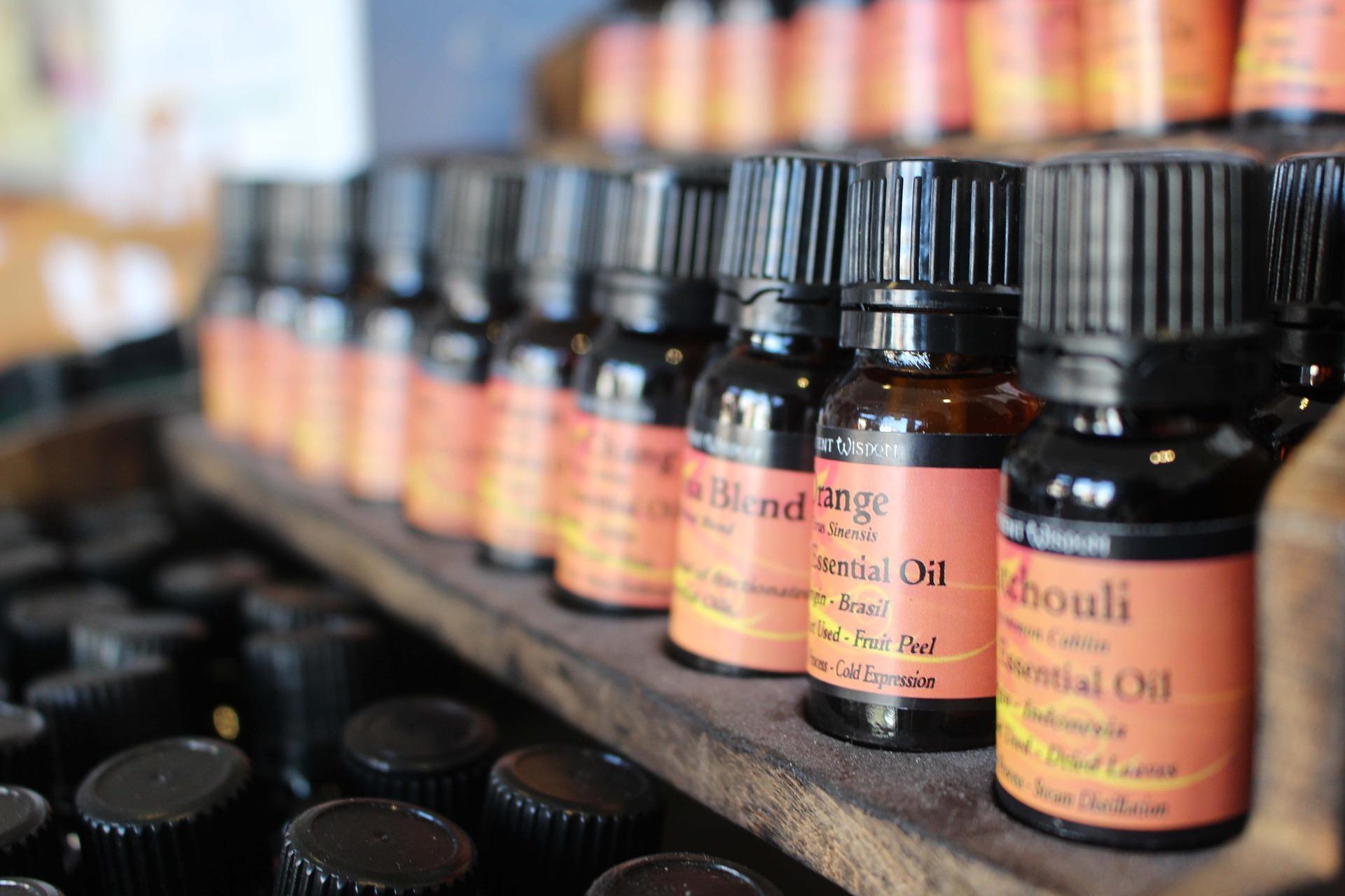 Yoga essential oil promo image
