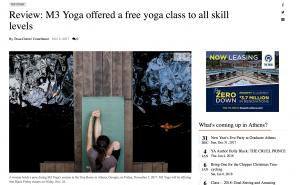 m3yoga free yoga class