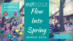 m3yoga flow into spring