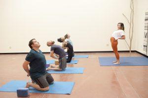 m3yoga stretch class