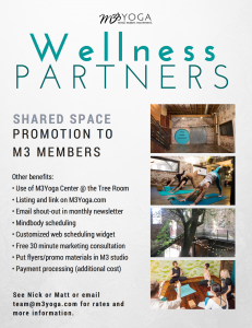 m3yoga wellness parters