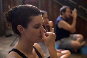 pranayama and meditation yoga