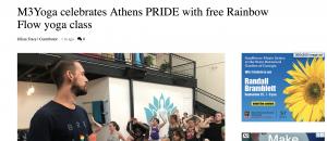 M3yoga Pride
